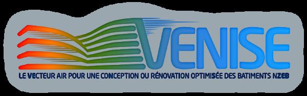 logo VENISE Vecteur air pour une conception ou rénovation optimisée des bâtiments nzeb